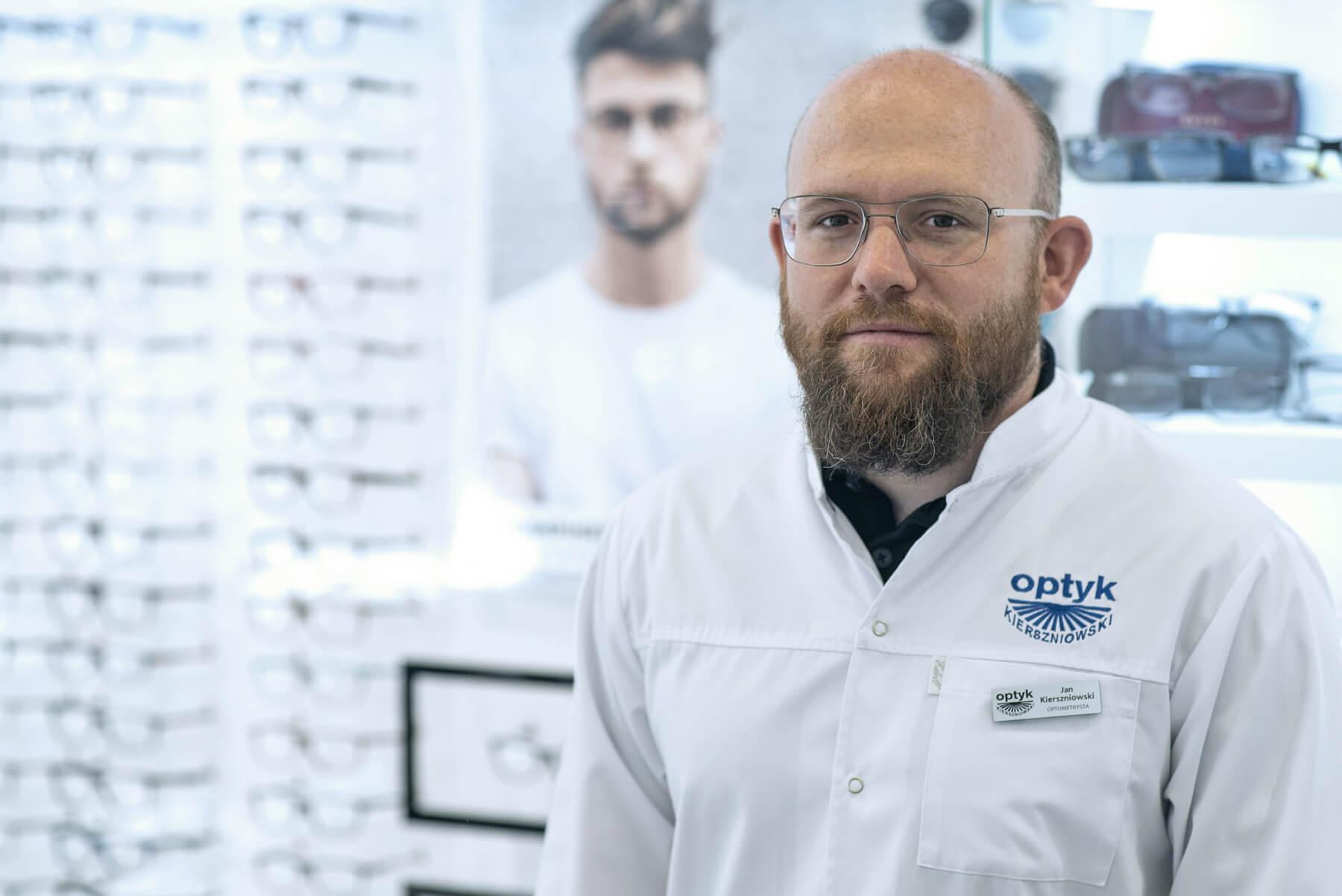 Mgr inż. Jan Kierszniowski – optometrysta PTOO - NO10217