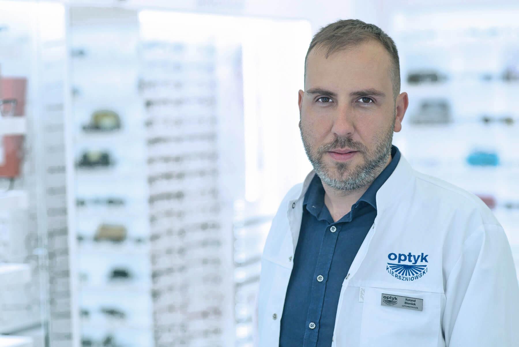 Mgr Roland Bieniek - optometrysta PTOO - NO14112